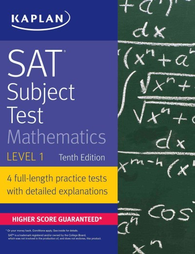 Sat Subject Test Mathematics Level 1