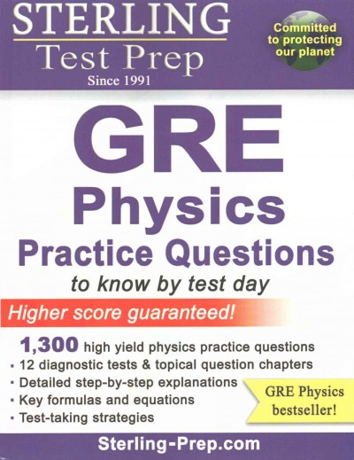 GRE physics practice questions.