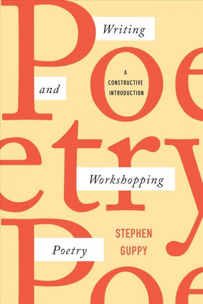 Writing and Workshopping Poetry