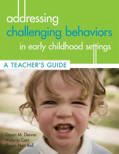 Addressing challenging behaviors in early childhood settings : a teacher