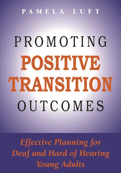 Promoting Positive Transition Outcomes
