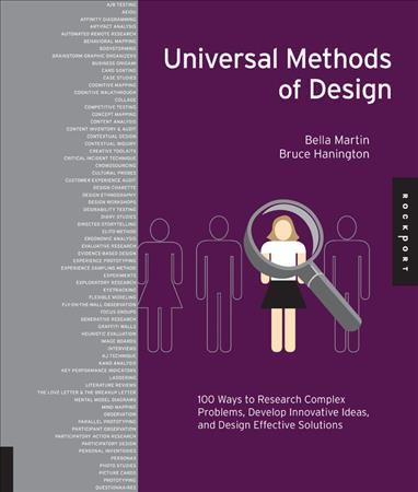 Universal methods of design : 100 ways to research complex problems, develop innovative ideas, and design effective solutions /