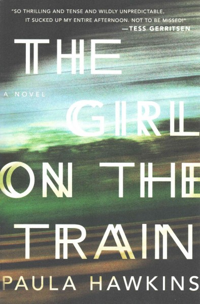 The Girl on the Train 列車上的女孩(平裝)
