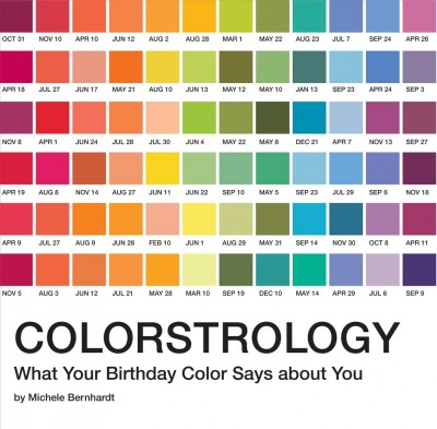 Colorstrology : : what your birthday color says about you