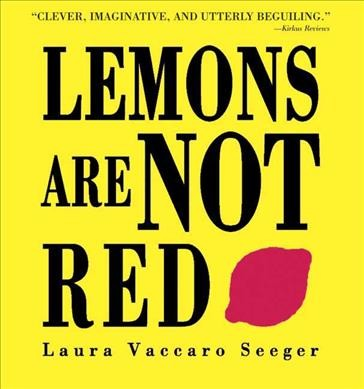 Lemons are not red /