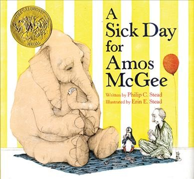 A sick day for Amos McGee 封面