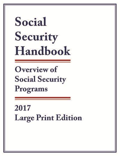 Social Security Handbook 2017