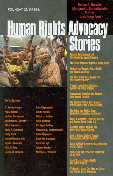 Human rights advocacy stories /