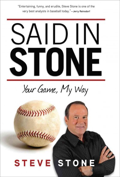 Said in Stone : your game, my way /