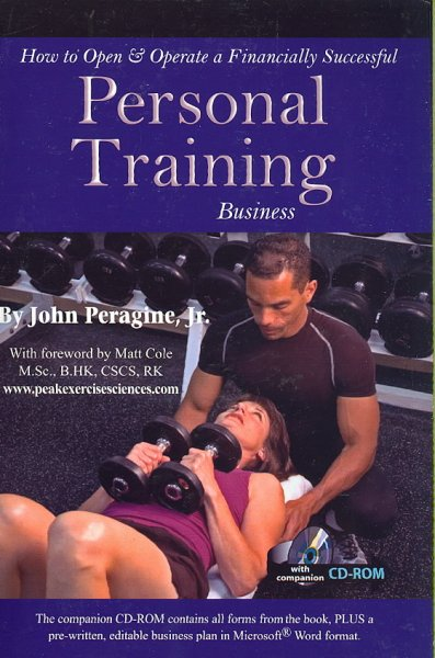 How to open & operate a financially successful personal training business /