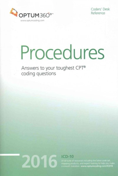 Coders?Desk Reference for Procedures 2016