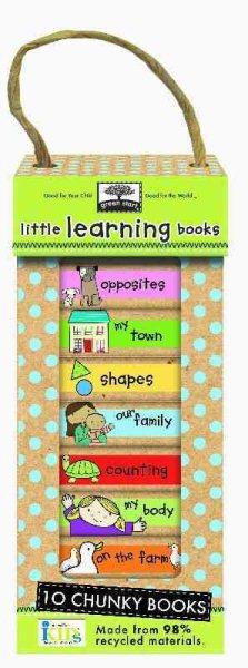 Green Start - Book Towers豆乾厚紙書(10本套組)-Little Learning Books