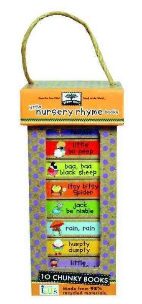Green Start - Book Towers豆乾厚紙書(10本套組)-Little Nursery Rhymes