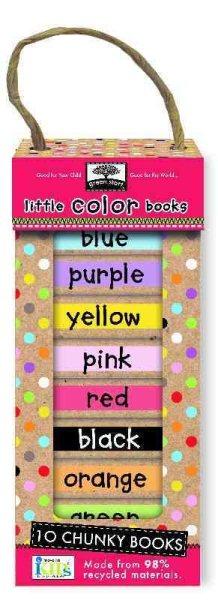 Green Start - Book Towers豆乾厚紙書(10本套組)-Little Color Books