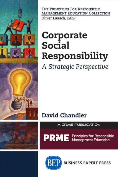 Corporate social responsibility:a strategic perspective