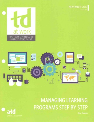 Managing Learning Programs Step by Step