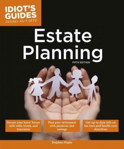 Idiot's Guides Estate Planning