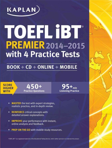 TOEFL iBT premier.