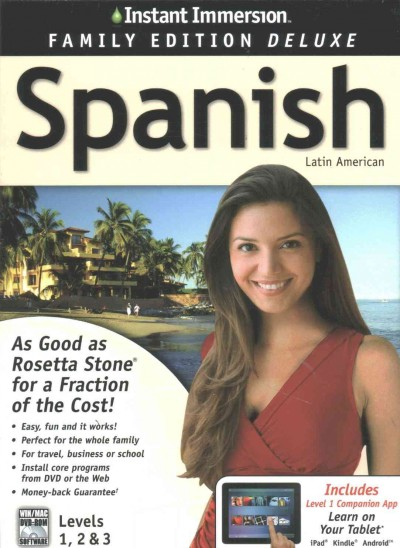 Instant Immersion Spanish, Level 1-3
