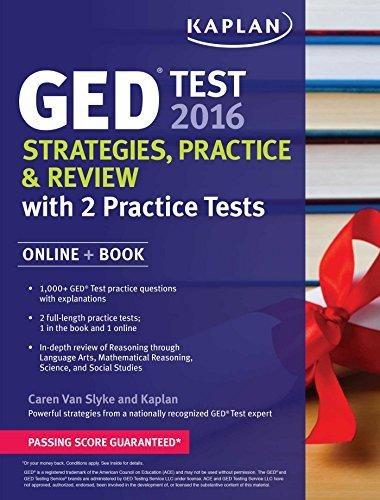 Kaplan Ged Test 2016
