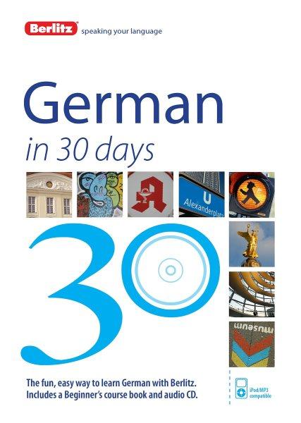 Berlitz German in 30 Days