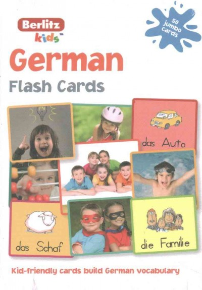 Berlitz Kids German Flash Cards