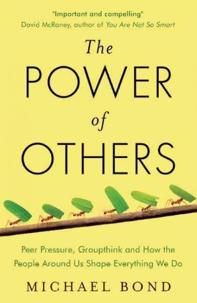 The power of others : peer pressure, groupthink, and how the people around us shape everything we do /