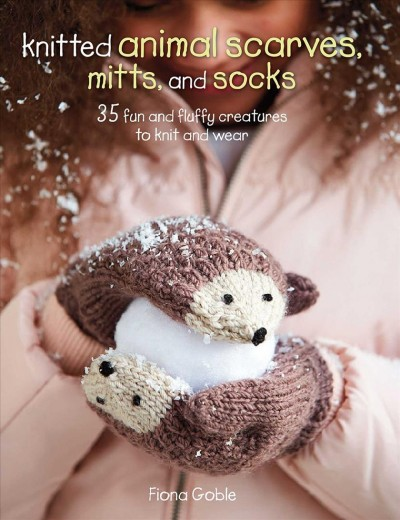 Knitted Animal Scarves, Gloves and Socks