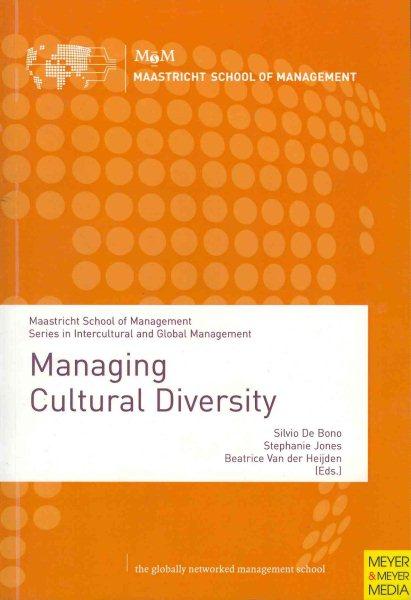 Managing cultural diversity /