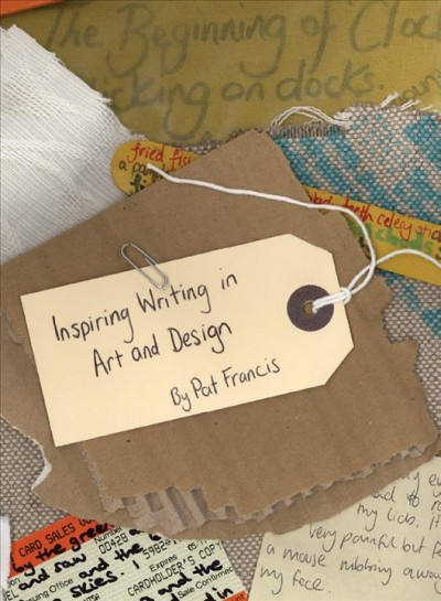 Inspiring writing in art and design : taking a line for a write /