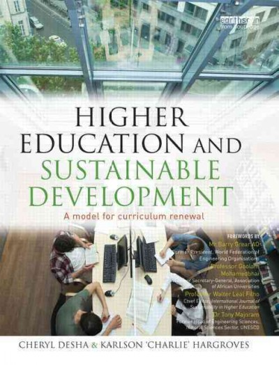 Higher education and sustainable development : a model for curriculum renewal /