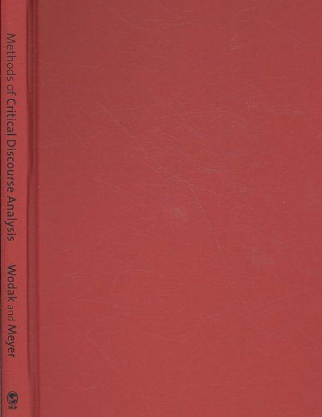 Methods of critical discourse analysis /