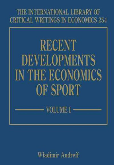 Recent developments in the economics of sport /