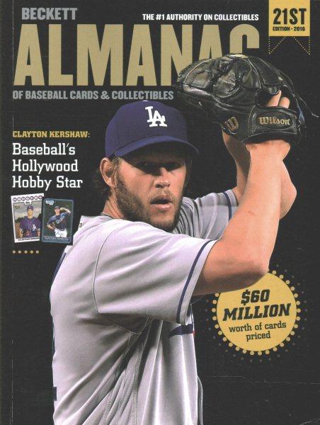 Beckett Almanac of Baseball Cards & Collectibles 2016