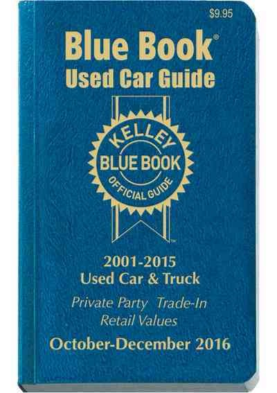 Kelley Blue Book Used Car Consumer Guide