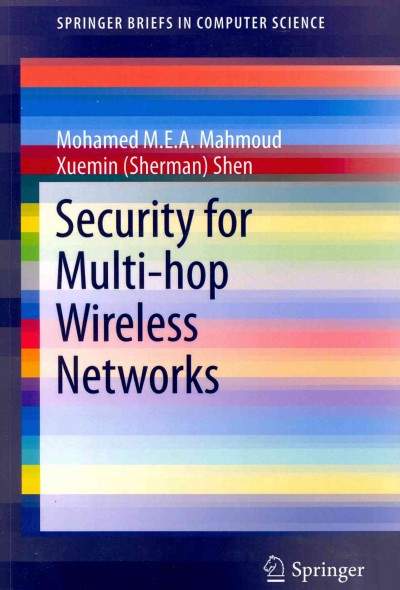 Security for multi-hop wireless networks /