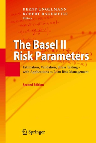 The Basel II risk parameters:estimation, validation, stress testing - with applications to loan risk management