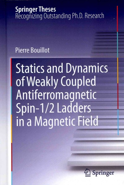 Statics and dynamics of weakly coupled antiferromagnetic spin-1/2 ladders in a magnetic field /