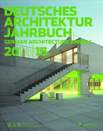 Deutsches Architektur Jahrbuch = : German architecture annual.