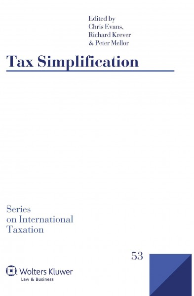 Tax simplification /