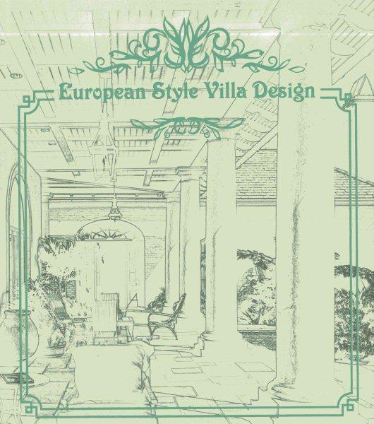 European style villa design.