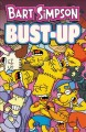 Bart Simpson. Bust-up