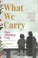 What we carry : a memoir