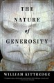 The nature of generosity