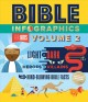 Bible infographics for kids. Volume 2 : Light + dark, heroes + villians, and mind-blowing bible facts.