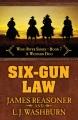 Six-gun law : a Western duo