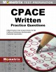 CPACE written practice questions : CPACE practice tests & exam review for the California Preliminary Administrative Credential Examination.