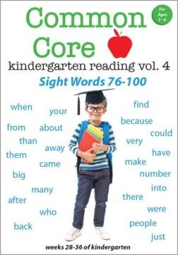 Common Core Kindergarten Reading