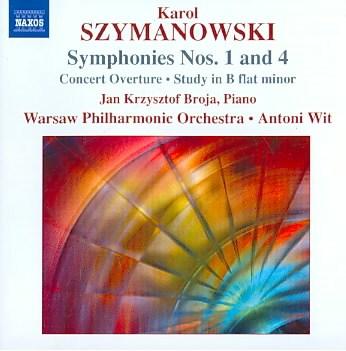 Symphonies nos. 1 and 4