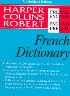 Collins-Robert French-English, English-French Dictionary
